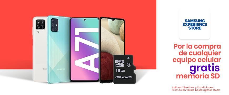 Samsung: Promo SD x Compra celular