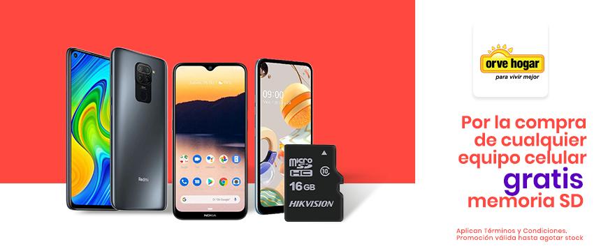Orve: SD x compra celular