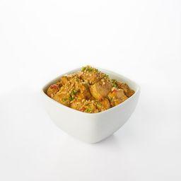 Congelado Curry Amarillo de Pollo