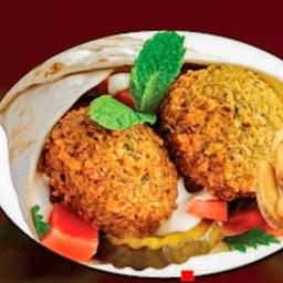 Combo Shawarma Falafel