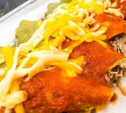Enchiladas Enfrijoladas