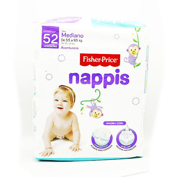 Fisher Price Panal Nappis Mediano