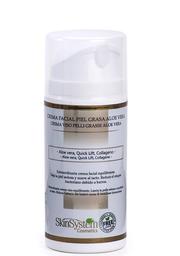 Skin System Crema Facial de Día Piel Grasa Aloe
