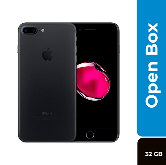 Iphone Celular 7 Plus 32 gb Matte Black - Open Box
