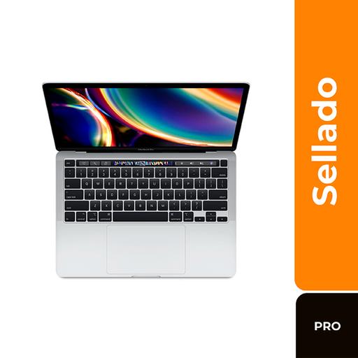 """Macbook Computador Portátil Pro 13"""" Touch Bar 2020 Silver"""