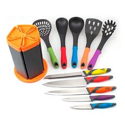 Master Kitchen Set de Cuchillos Multicolores