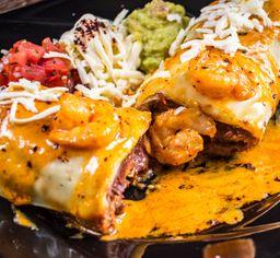 Burrito de Camarón en Salsa Chipotle