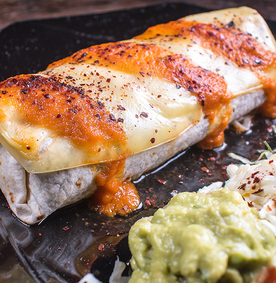 Burrito Tinga de Pollo
