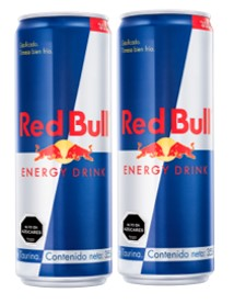 Energy Drink Red Bull 250 Cc  X 2