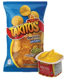 Takitos 150 g + Cheese Cup Rico'S 99G