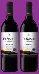 Promoción 2 Vinos Peñasol Merlot 750 mL