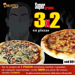Super Promo 3x2 Pizza
