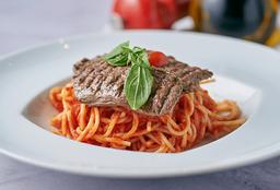 Grilled Steak Spaguetti