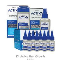 Kit Activa Hair Growth