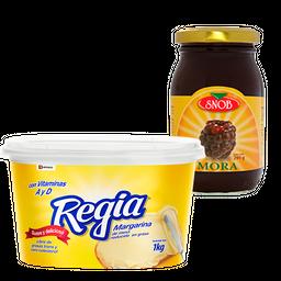 Rappicombo Margarina + Mermelada