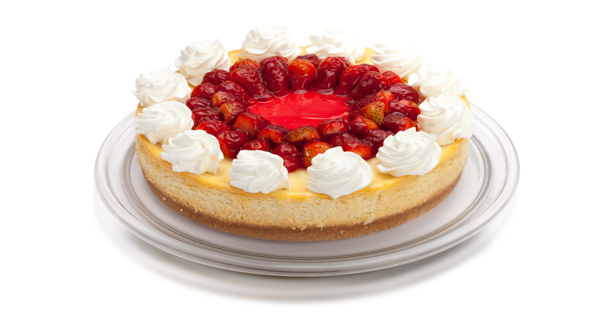 Cheesecake de Frutilla Entera