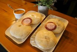 Tortilla de Yuca con Carne