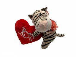 Peluche Corazón Tigre