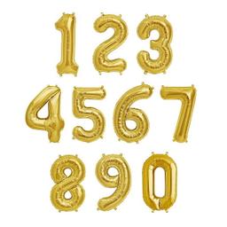 Globos Metálicos 32 Dorados