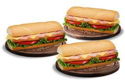 Promo 3X2 Sándwich Mixto