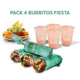 Pack Fiesta Burrito