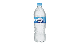 Agua Dasani con Gas 600 ml