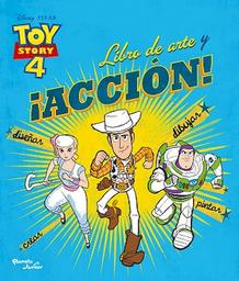 Toy Story 4 Libro de Arte y ¡Acción!   Disney