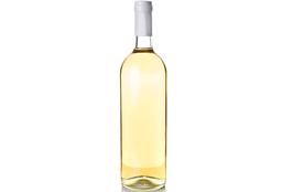 Botella Vino Blanco de la Casa