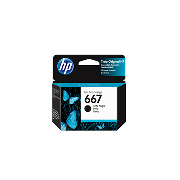 HP Cartucho de Tinta 667 Negro