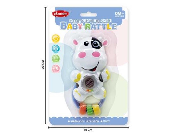 Juguete Sonajero Vaca Para Bebe Ref.6681