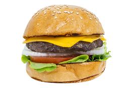 Combo Angus Cheese Burger