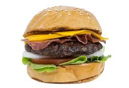 Combo Bacon Angus Cheese Burger