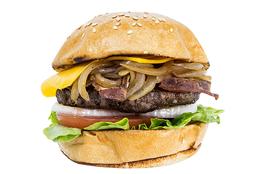 Combo ABC Cheese Burger