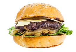 Gruyere Angus Burger