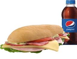 Sandwich Italiano + Pepsi