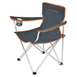 Truper Silla Para Camping 90 cm Plegable Negro
