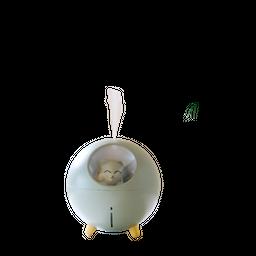 Humidificador Y Difusor De Aroma Con Lámpara 220Ml Planet Cat