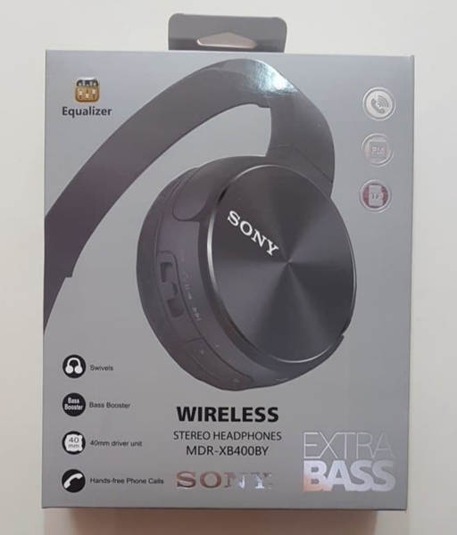 Extra Bass Audifono Mdr-Xb400By