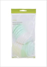 Miniso Pack de Esponja Para Maquillaje Suave Turquesa/Blanco
