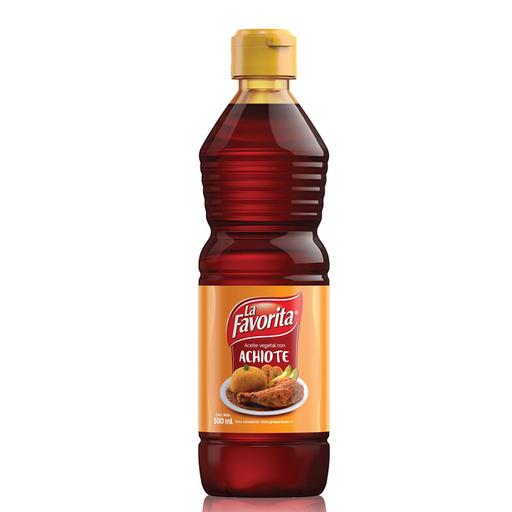 Aceite La Favorita Achiote
