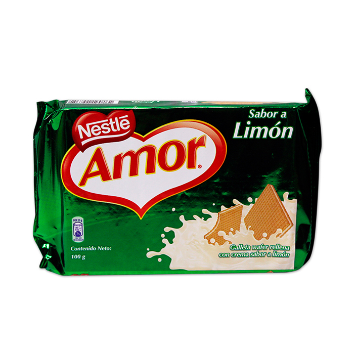 Wafer Amor Sabor Limon