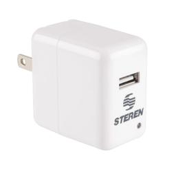 Steren Cargador Usb de Casa 2.1 Amp