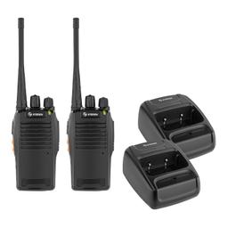 Steren Kit Radios Intercomunicadores Negro