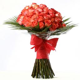Bouquet 50 Rosas Cupido