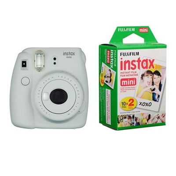 Cámara Instantánea Fujifilm Instax Mini 9 Fotos + Rollo 10 Films