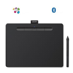Tableta Digitalizadora Wacom Intuos Dibujo Bluetooth Ctl-4100Wl