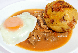 Torti Orense Chicharrón y Carne