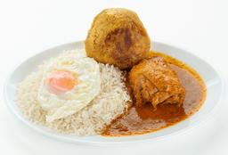 Completo de Chicharrón y Pollo