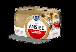 Amstel Cerveza Lata