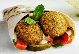 Sándwich de Falafel